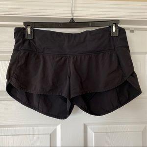 Lululemon | Speed Shorts in Black